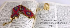 Dictionnaire de Bijoux Fantaisie