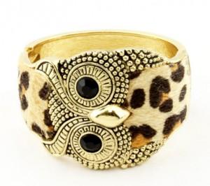bracelet manchette hibou