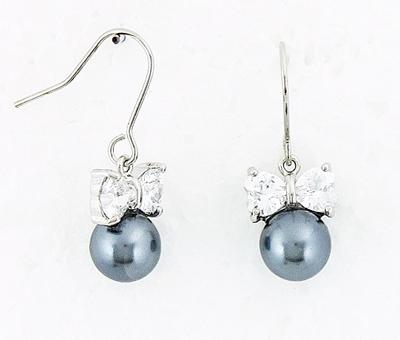 boucles d'oreille en perle