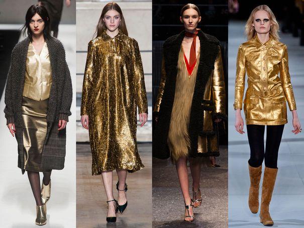 le doré, couleur tendance
