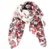 foulard papillon