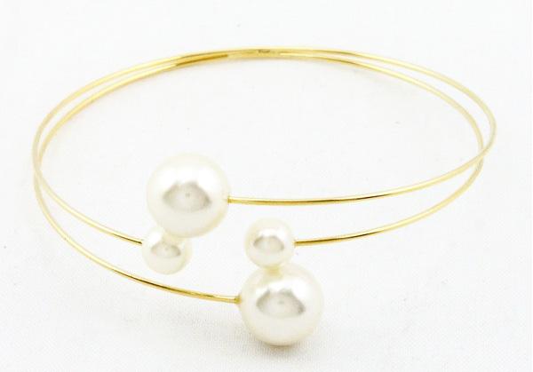 bracelet multirang perles