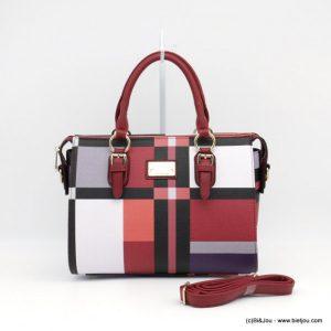 grossiste sac à main et accessoires géométrique
