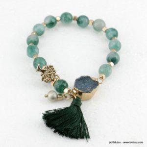 bracelet élastique charms