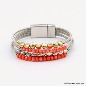 Bijoux : bracelet aimanté