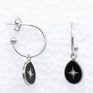 Boucles d'oreilles : étoile du Nord