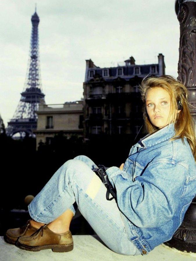 Vanessa Paradis à Paris dans les années 80