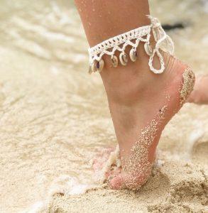 La tendance des bracelets de cheville